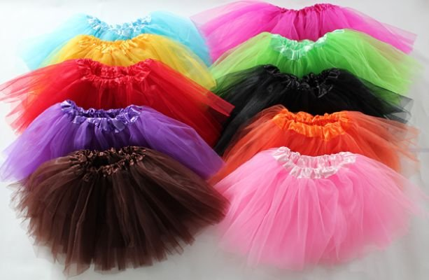 Aliexpress Com Buy Girls Tutu Skirt 3 Layers Baby Tutus