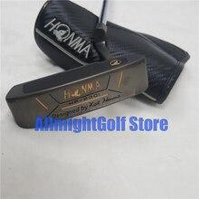 New honma hp 2001 골프 퍼터 클럽 골프 클럽 r58 그립 고품질 헤드 커버 무료 배송