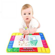 29X19cm 4 color Water Drawing Toys Children Aqua Doodle Drawing Toys 1 Painting Mat 1 Water