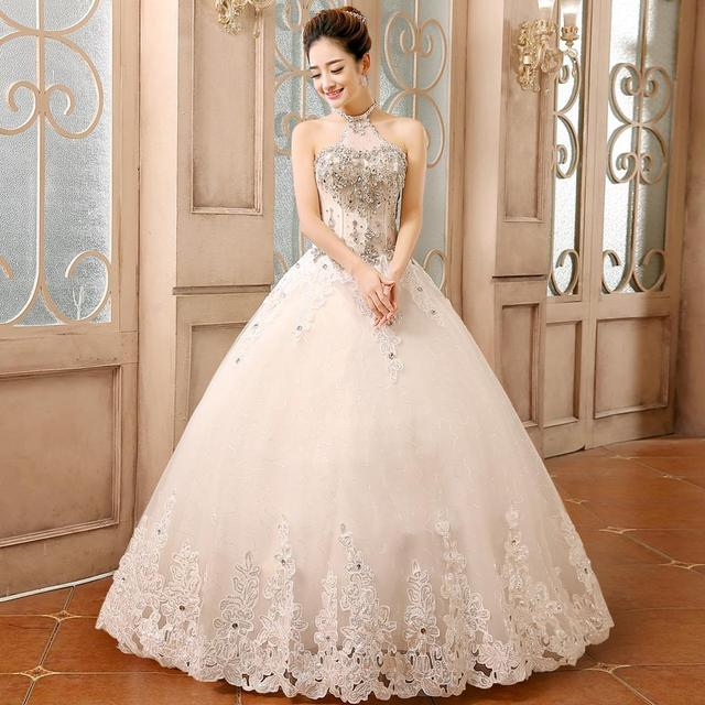Vestido de boda 2015 verano nueva moda coreana delgado diamante de ...
