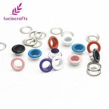 Embellishment Accessories Eyelets Scrapbooking Crafts Garment Doll DIY G1301 Lucia 50set
