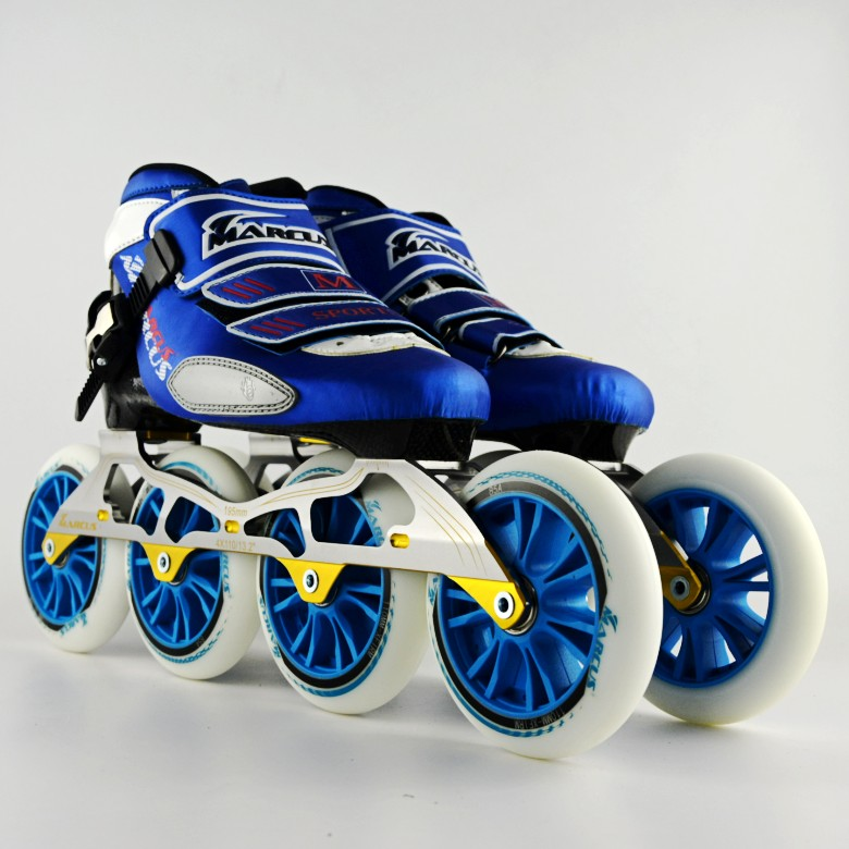 Marcus professional carbon fiber speed skating shoes adult male and female children roller skating skatesspeed roller s