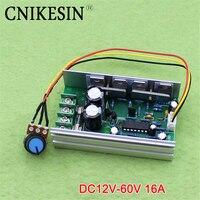 Dc PWM Speed Governor 12V24V36V48V60V A Soft Start Over Current And Under Voltage Protection 16A F7A3