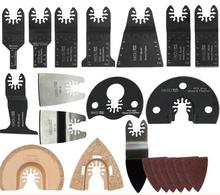 40 pcs/set oscillating tool saw blade accessories for multifunction electric tool as Fein power tool,wood metal cutting,home DIY