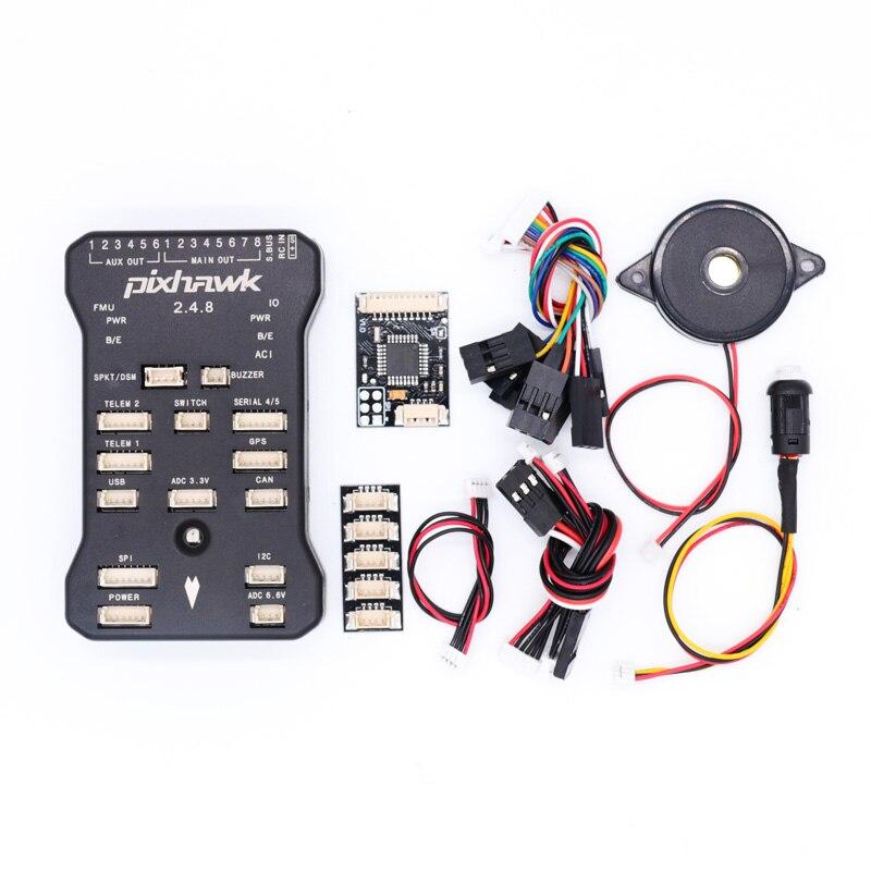 Pixhawk PX4 PIX 2.4.8 Flight Control 32 Bit Autopilot mit 4G SD Sicherheit Schalter Summer PPM encoder I2C splitter erweitern modul-in Teile & Zubehör aus Spielzeug und Hobbys bei  Gruppe 1