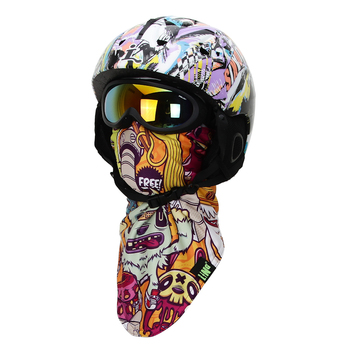 Winter WindProof Thermal Skiing Scarf Neck Warmer Outdoor Sport Snowboard Face Mask Motorcycle Warm Ski Beanie Cycling Skullies bjmoto cool skeleton skull motorcycle ski headband sport outdoor neck face mask mtb racing cycling windproof scarf balaclava