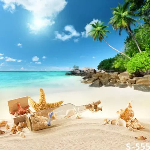 Sand Beach For Kids Photos Studio Vinyl Backdrops Muslin Digital Computer Printed Backgrounds Photography Background Cloth Spray In From Consumer