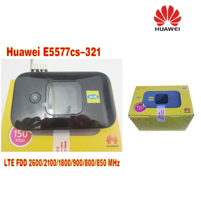 Lot of 2pcs Original Unlock 4G Wireless Router LTE Mobile WiFi Router with SIM Card Slot Huawei E5577Cs-321 plus 2pcs antenna huawei b593 lte cpe 4g router with sim card slot b593u 12 dual 35dbi antenna 3g
