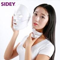 SIDEY ML04 led mask beauty face neck mask rejuvenation skin therapy wrinkles for sale