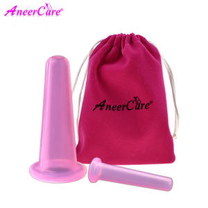 Cups Massage Cupping-Set Vacuum Jars Anti-Cellulite Silicone Family for 2pcs