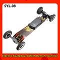 SYL-08 электрические скутеры Электрический скейтборд с дистанционным управлением внедорожный Тип взрослый patinete vs e скутер хуладжнога