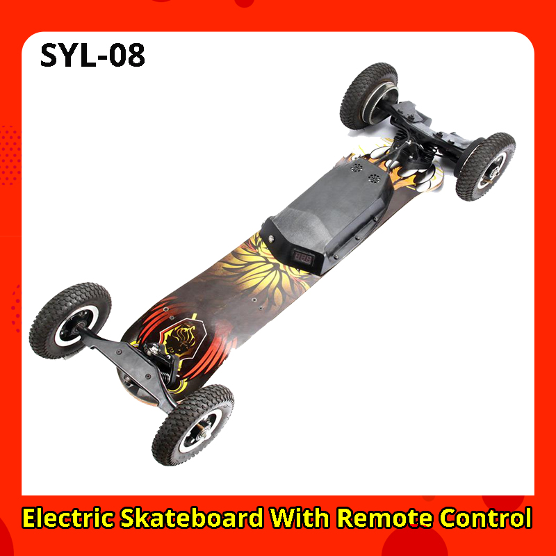 SYL 08 Electric Electric Scooters Electric Skateboard With Remote Control Off Road Type adult patinete vs