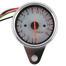 Car-styling Motorcycle 12V LED Digital Backlight Tachometer Backlight Tachometer Tacho Gauge Speedometer Speed Control 16000rpm for honda cbr400 nc29 speedometer tachometer tacho gauge instruments motorcycle parts