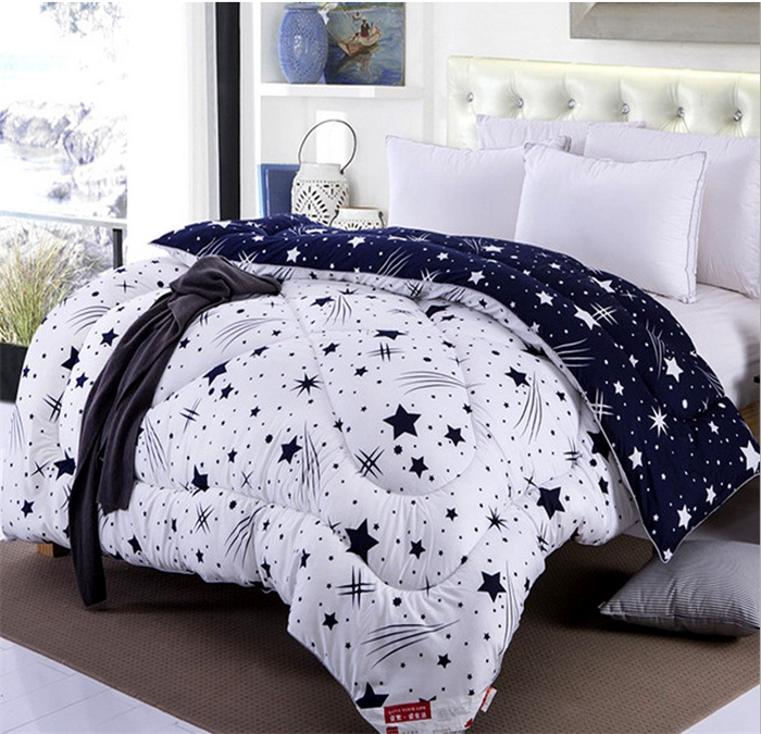 Winter comforter goose down quilted blanket quilt 19 colors bedding filler filling 1pc lot duvet - Spots of color in the bedroom linens and throws ...