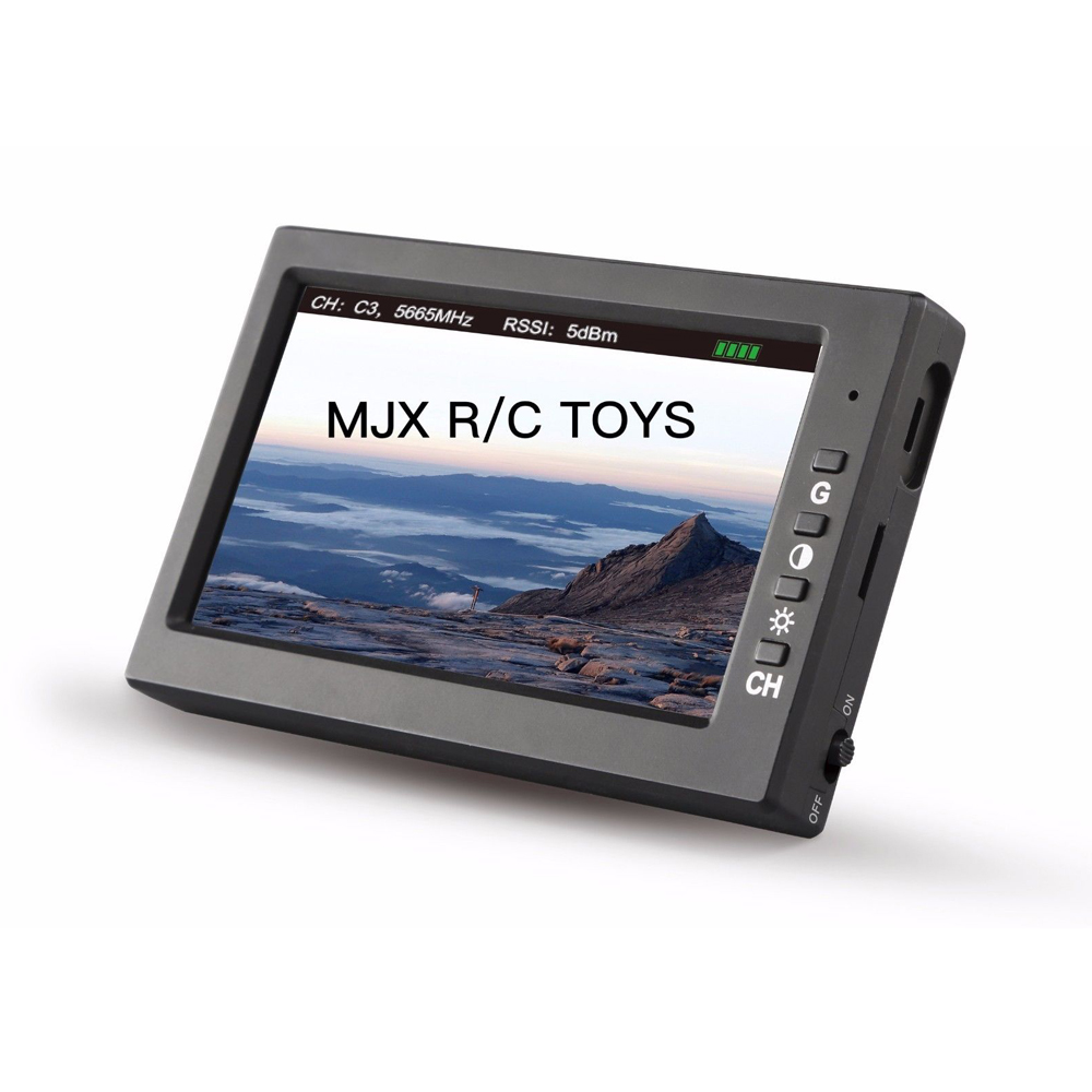 MJX D43 5.8G FPV Monitor 4.3 Inch LCD Screen RC Brushless Drone Spare Parts with G3 Goggles Fits for C5820(Bugs 3) C5830(Bugs 6) радиоуправляемый инверторный квадрокоптер mjx x904 rtf 2 4g x904 mjx
