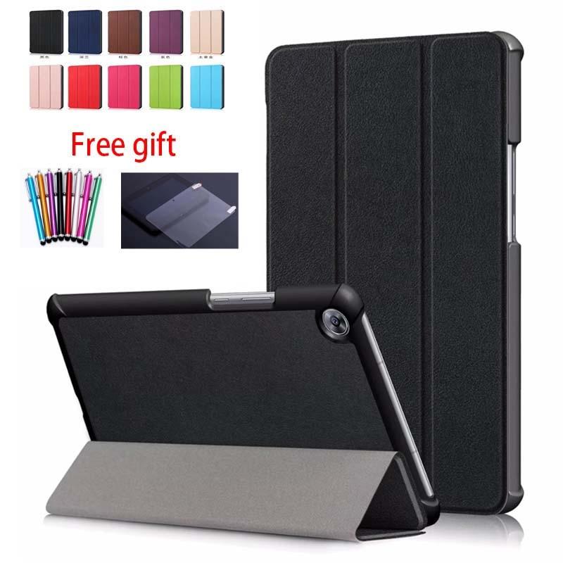 Case Wake-Magnet-Case Tablet Huawei Mediapad Sleep Smart For M5 Slim SHT-AL09