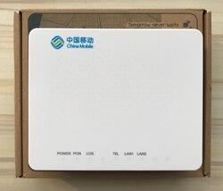 Novo gpon onu zxhn zte f603, 2 lan + 1 voz, sip protocolo, interface em inglês, com china marca móvel
