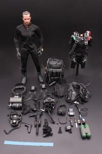Image 5 - 1/6 US NAVY Seal Halo UDT sauteur costume figurines daction parachutistes grenouille 12 pouces soldat corps Figurine ensemble entier modèle poupée