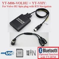 Yatour radio USB SD digital MP3 player for Volvo C70 S40 S60 S80 V40 V70 XC70 HU radio with Navigation system