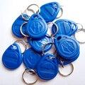 125 KHz Llavero RFID para Control de Acceso Sistema de color Azul