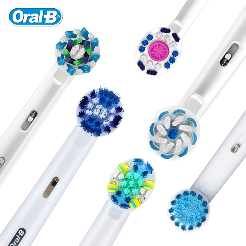 Genuine Oral B Toothbrush Head Replaceable Brush Heads for Oral B Rotation Type Electric Toothbrush Replacement heads image