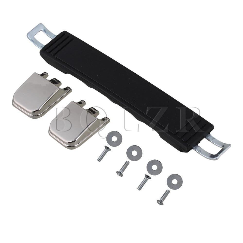 BQLZR Suitcase Luggage Case Plastic 13.5cm Spare Strap Carrying Handle Grip 2pieces diy bqlzr 9 1cmx10 7x4 9cm black plastic left