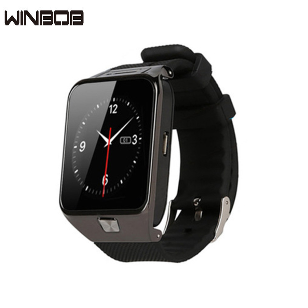 Smart Watch DZ09 2016 Gold Orange White Black Smartwatch Bluetooth Watches For IOS Android Iphone SIM