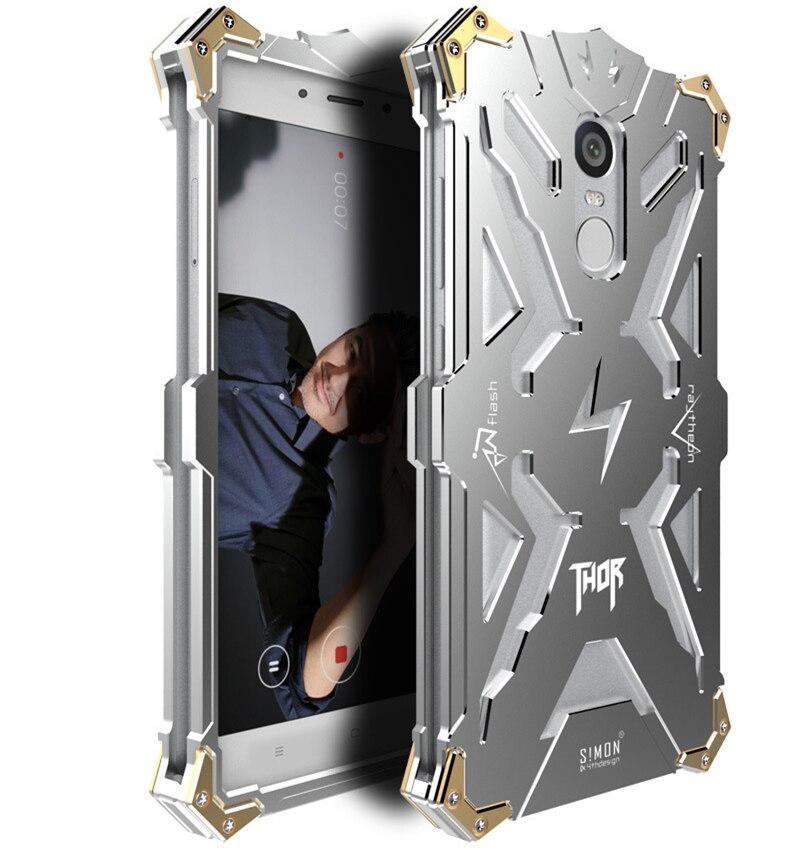bilder für Für xiaomi mi5 mi5s mi 5 5 s thor metall case für redmi hinweis 3 4 pro redmi pro luftfahrt-aluminium starke rüstung hohl design abdeckung