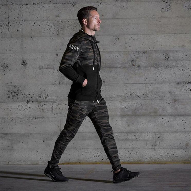 Gym pants Men – Casual Camouflage Sweatpants