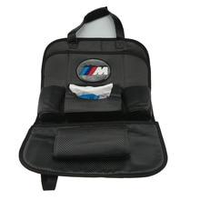 Автомобиль обратно углеродное волокно сиденье сумка для хранения для BMW E60 E90 F10 F30 F15 E63 E64 E65 E86 E89 E85 E91 e92 E93 F02 M5 E61 f01