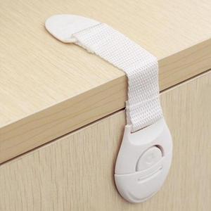 1 قطعة قفل أمان للأطفال الطفل سلامة حماية قفل خزانة للثلاجات قفل للدرج الاطفال سلامة البلاستيك قفل الطفل منتجات الأمن