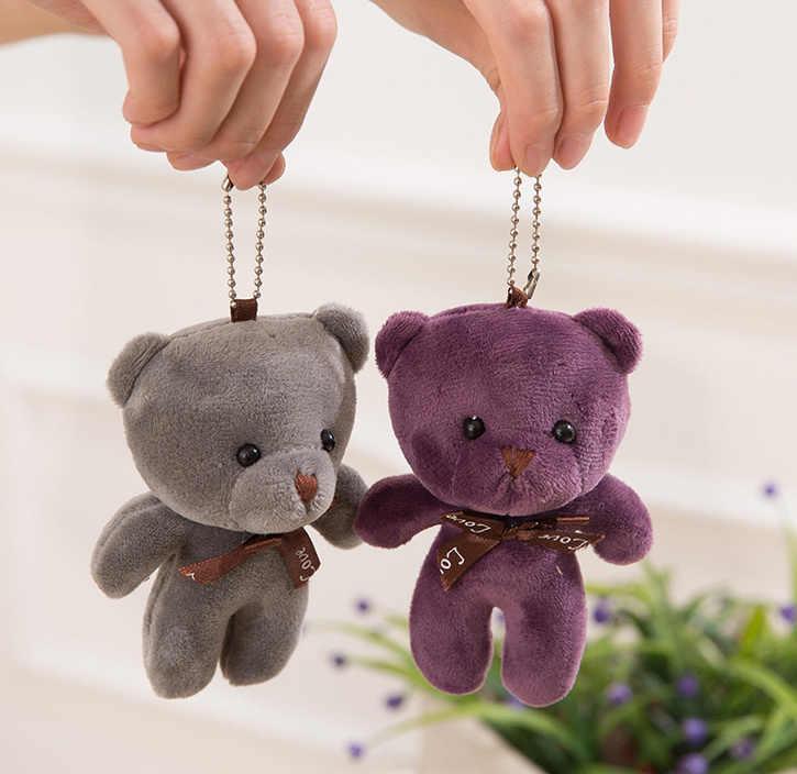 かわいい 10Colors-結婚式ギフト愛熊ぬいぐるみぬいぐるみ人形、 9 センチメートルぬいぐるみクマぬいぐるみ人形キーホルダー