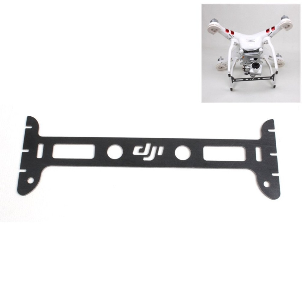 DJI Phantom 3 Gimbal Guard Camera Lens Protector Board Plate Glass Fiber for font b Drone