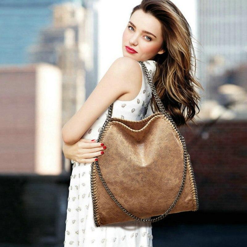 10 colors option womens falabella chain bag foldable functional shoulder and cross body big capacity handbags