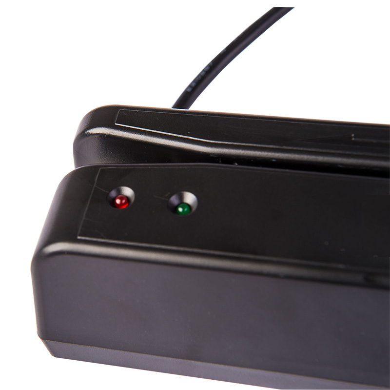 Image 5 - RD 400 USB Magnetic Stripe Card Reader 2 Track MSR Card Reader POS Reader Magnetic Stripe Card 2 track-in Card Readers from Computer & Office