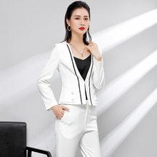 76061aea Ropa de las mujeres traje de dos juegos de traje pequeño traje coreano ol  trabajadores de oficina temperamento trajes