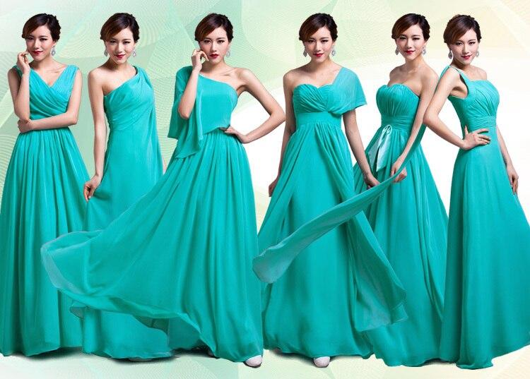 Purple Bridesmaid Dresses Turquoise Formal