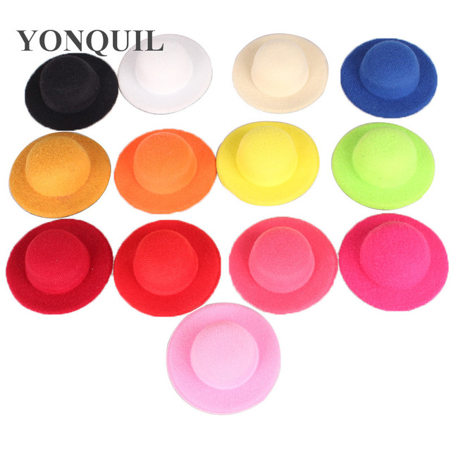 Multiple Color 7cm Mini Top Hats Cute Girl Party Headwear Show Diy
