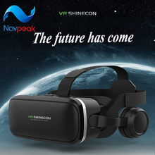 Immersive VR smart device virtual reality  helmet panorama mirror
