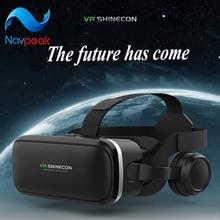 Immersive VR smart device font b virtual b font font b reality b font helmet panorama