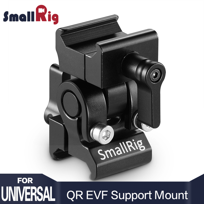SmallRig EVF Mount QR Quick Release Camera Monitor Rig Adapter with Nato Clamp for Monitor Viewfinder