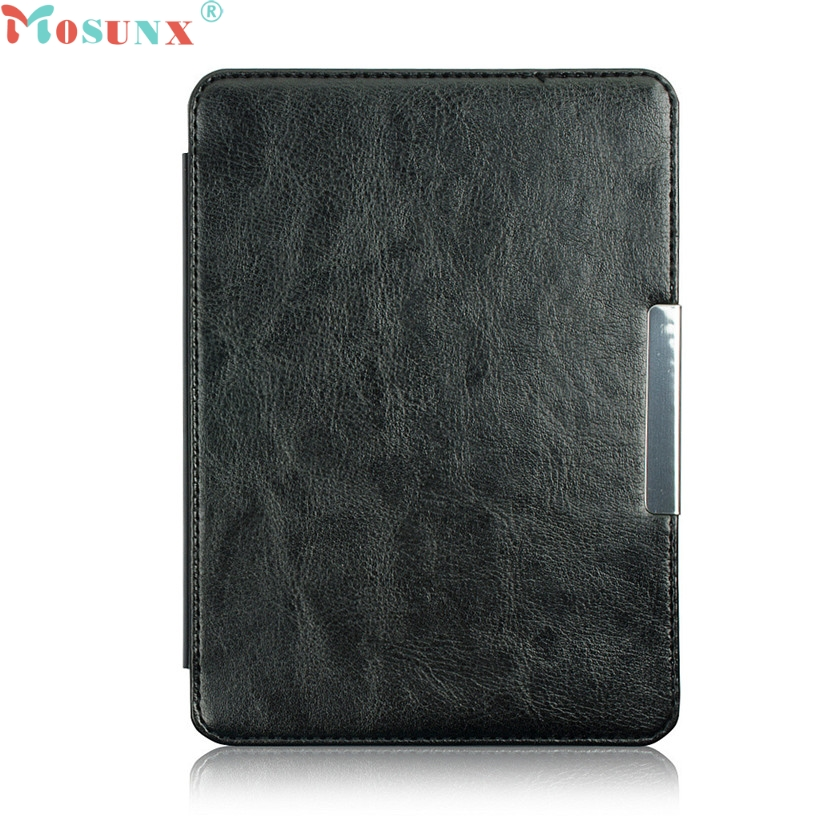 Mosunx Simplestone Magnetic Auto Sleep Slim Cover Case Hard Shell For KOBO GLO HD 6.0inch oct27