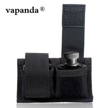 Vapanda Tactical Touche dublu Speedloader Curea Curea Mag Holder universal Fit S & W 38 .357 .57 Taur 617 22 Mag Thru 44 Mag