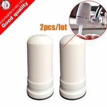 2 шт./лот картриджи для водяного фильтра для kubichai кухонный кран установленный водопроводной очиститель воды с активированным углем водопроводной фильтр для воды
