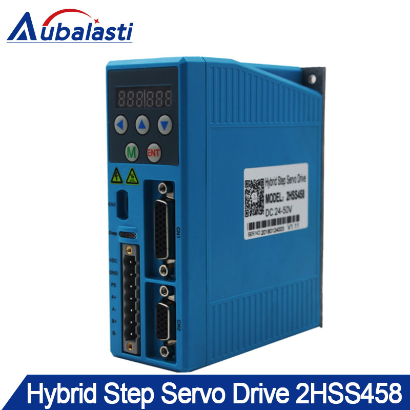 Hybrid step servo motor drver 2HSS458 input voltage DC24-50V match  With 60 serial step motor Hybrid step servo motor drver 2HSS458 input voltage DC24-50V match  With 60 serial step motor