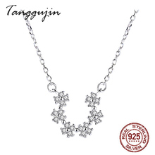 цена Necklaces Pendants 925 Sterling Silver 925 Jewelry Best Friend Pendant Necklace For Women Jewelry 2019 онлайн в 2017 году