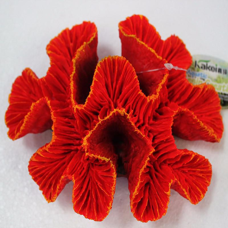 New fashion artificial red coral reef aquarium resin