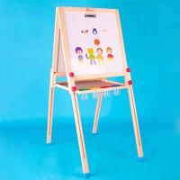 Tangram Детские деревянные игрушки для улучшения обучаемость и творческой двусторонняя магнитная доска для рисования