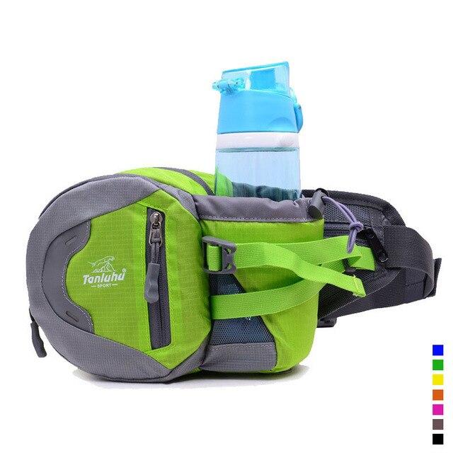 Outdoor Sport Bags Running Men Waist Bag Reflective Hiking Riding Fanny Pack  Bum Belt Women Water e3817cf5a