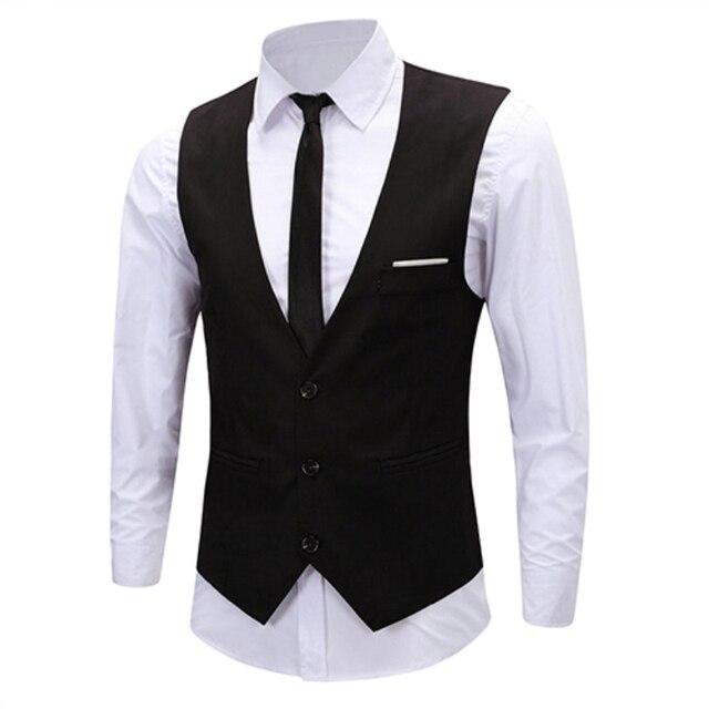 D'affaires Chaîne Classique De Robe Gilet Formelle Slim Fit Hommes WeE9IYD2H